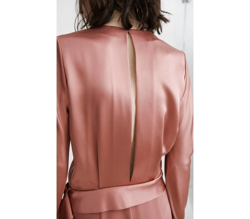 Dion Lee Bias Fold Dress