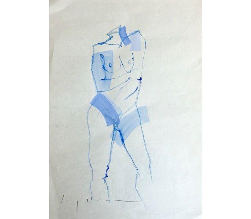 """Kate Long Stevenson """"Six"""" Framed"""