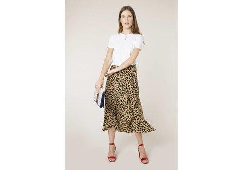 RIXO London Gracie Wrap Skirt