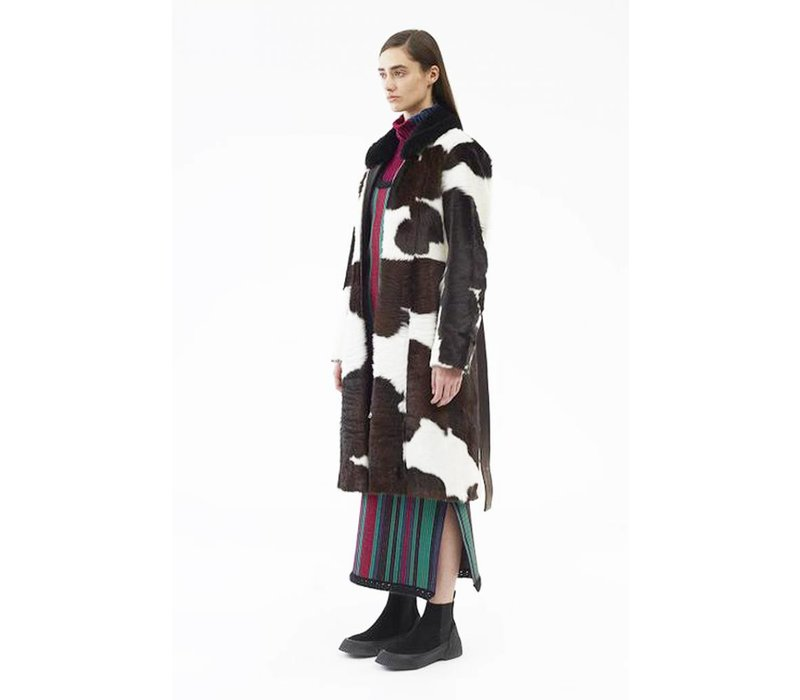 3.1 Phillip Lim Tailored Cowhide Coat