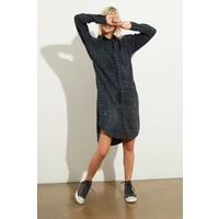 NSF Rhodes L/S Button Up Dress
