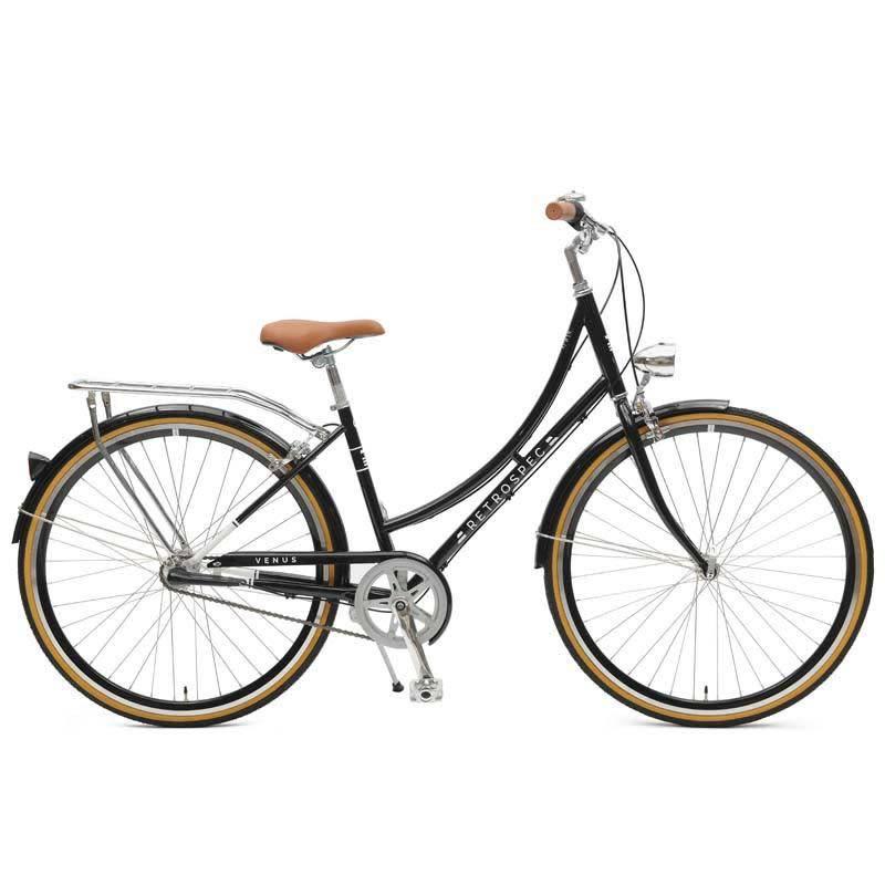 Retrospec Bicycles Venus 3 Speed City Bike. Black, 38cm