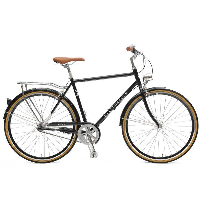 Retrospec Bicycles Mars 3 Speed City Bike. Black, 58cm
