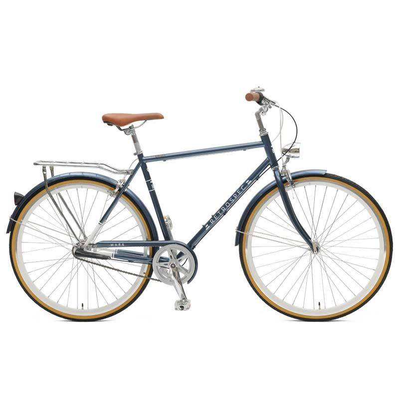 Retrospec Bicycles Mars 3 Speed City Bike. Midnight Blue, 58cm