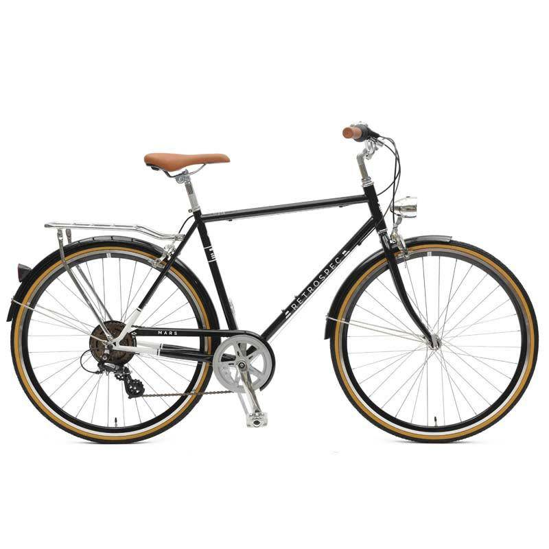 Retrospec Bicycles Mars 7 Speed City Bike. Black, 50cm