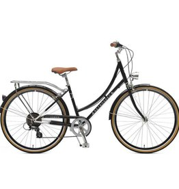 Retrospec Bicycles Venus 7 Speed City Bike. Black, 38cm