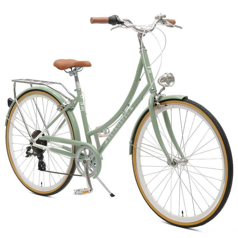 Retrospec Bicycles Venus 7 Speed City Bike. Mint, 38cm