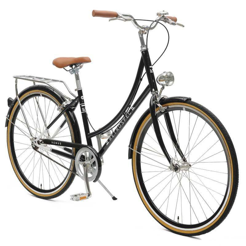Retrospec Bicycles Venus Single Speed City Bike. Black, 44cm
