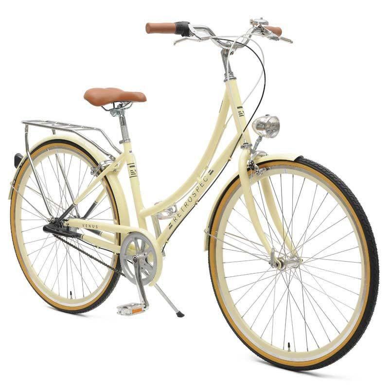 Retrospec Bicycles Venus 3 Speed City Bike. Tan, 44cm