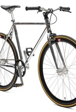 Retrospec Bicycles Mantra V2. Chrome & Black, 49cm
