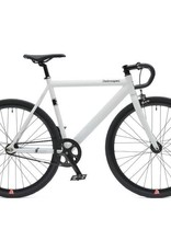 Retrospec Bicycles Drome Track Urban Commuter Bike. White, 52cm
