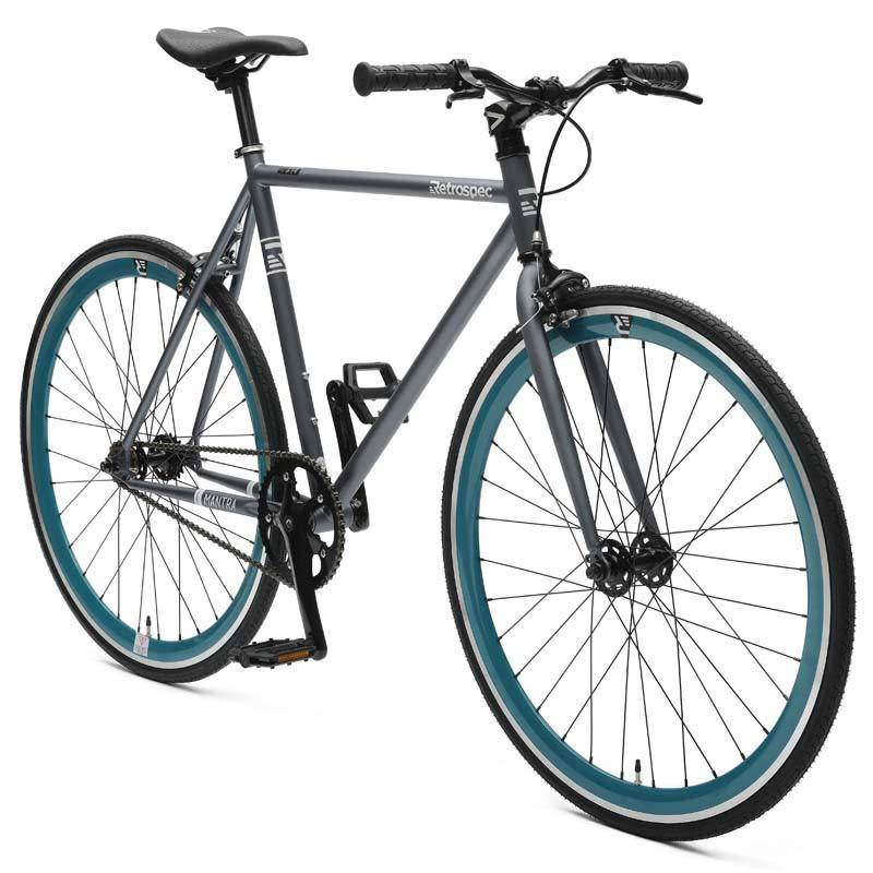 Retrospec Bicycles Mantra V2. Graphite & Teal, 53cm