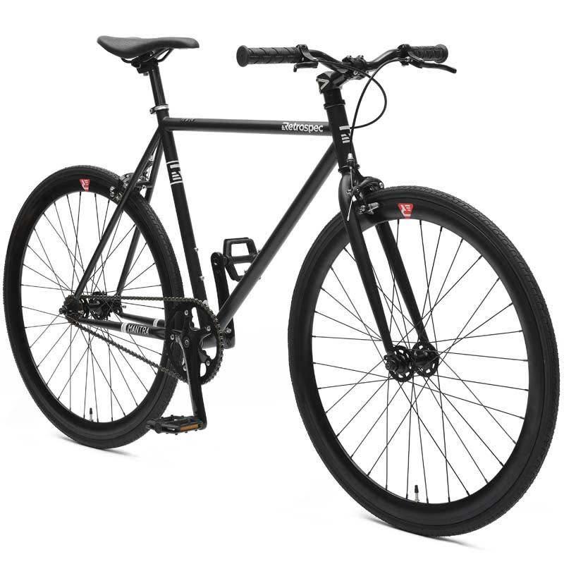 Retrospec Bicycles Mantra V2. Matte Black, 53cm