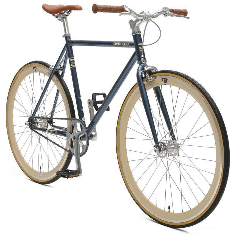 Retrospec Bicycles Mantra V2. Midnight Blue, 53cm