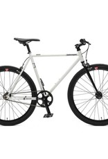 Retrospec Bicycles Mantra V2. White & Black, 53cm