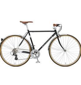Retrospec Bicycles Kinney-14, Diamond Flat Bar. Black, 50cm