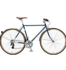 Retrospec Bicycles Kinney-14, Diamond Flat Bar. Navy Blue, 50cm
