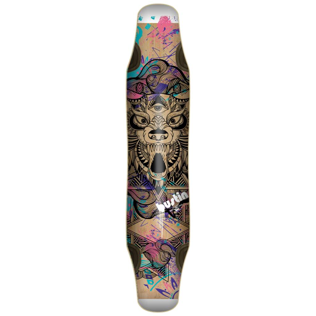 "Bustin Boards Daenseu 46"" Deck - 'Lykos' Graphic"