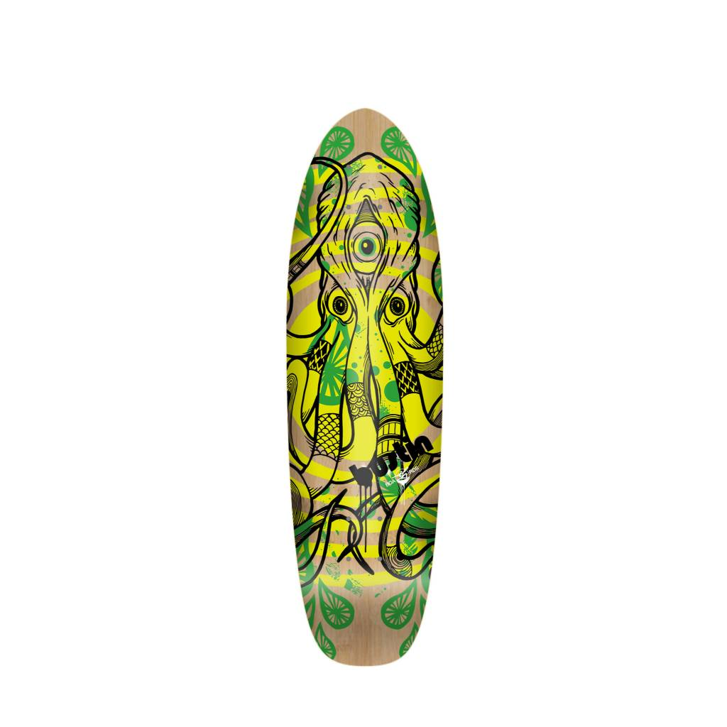 """Bustin Boards Bonsai Mini 29"""" Deck - 'Tako' Graphic"""
