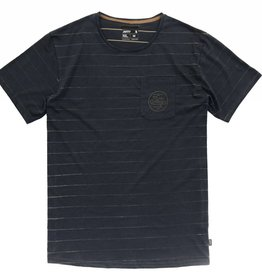 Jetty Strat Pocket Tee- Iron