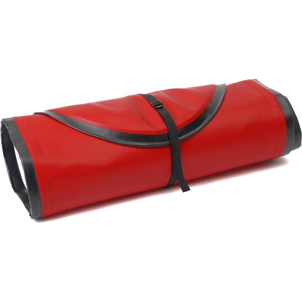 Ten Toes Board Emporium WEEKENDER 10' INFLATABLE STANDUP PADDLE BOARD, Black & Red