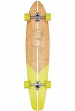Ten Toes Board Emporium The ZED 44-inch Longboard. Kelp Fishtail