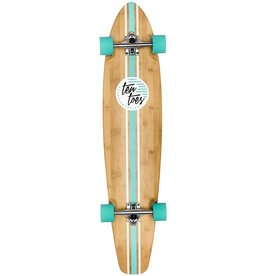 Ten Toes Board Emporium The ZED 44-inch Longboard. Aqua Pipeline