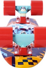 Ten Toes Board Emporium QUIP Mini Cruiser Skateboard. Tribal