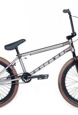 Cult GATEWAY-D Raw Frame, w/Black Forks, Bars, Rims, and Seat w/Dark Gum Tires