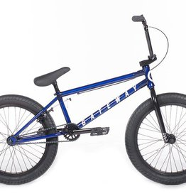 Cult GATEWAY-C Trans Blue Frame, w/Black Forks, Bars, Rims, Tires, and Seat