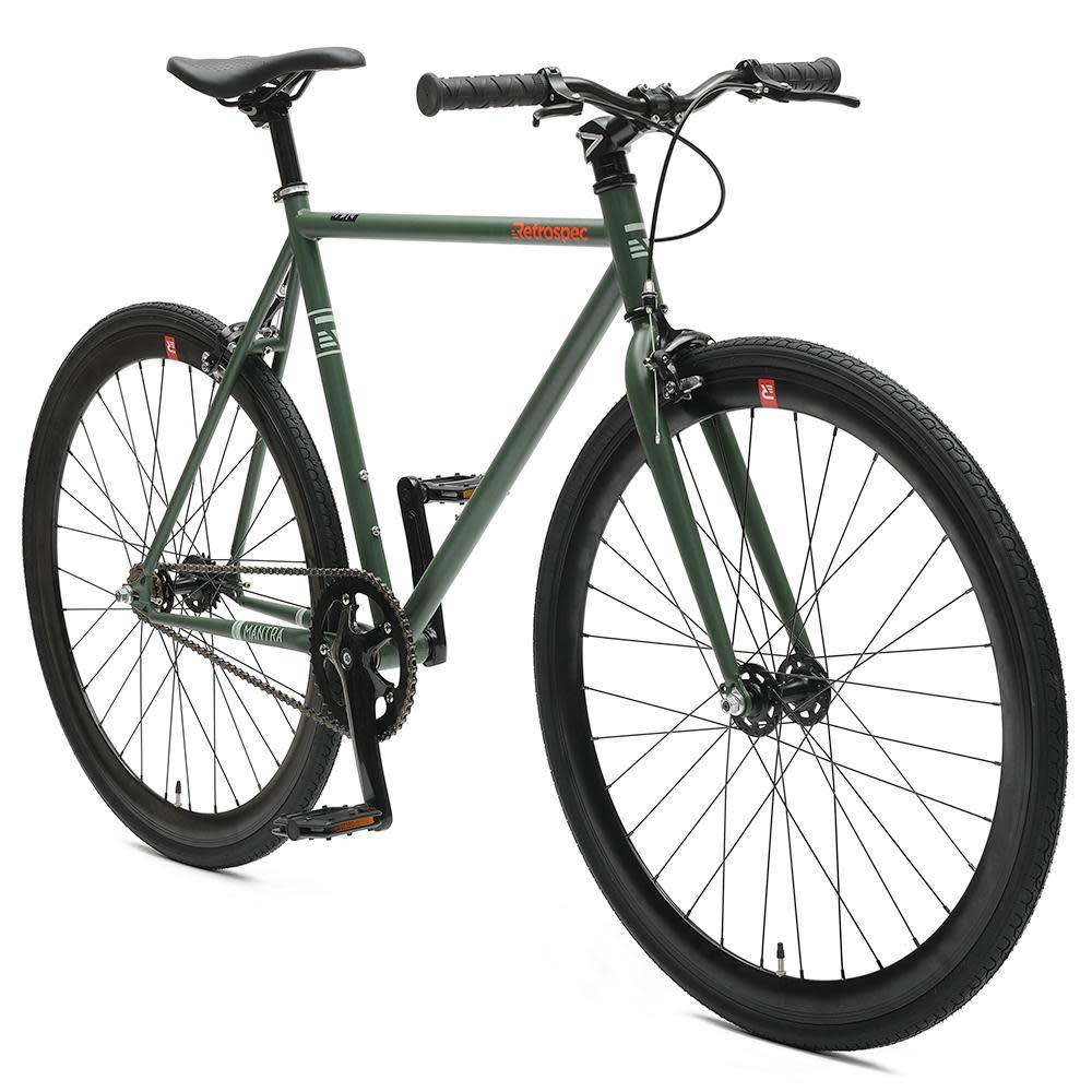 Retrospec Bicycles Mantra V2. Hunter Green, 43cm