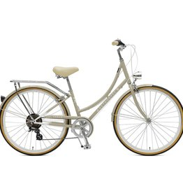 Retrospec Bicycles Venus 7 Speed City Bike. Taupe, 38cm