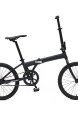 Retrospec Bicycles Speck Folding Bike. Matte Black