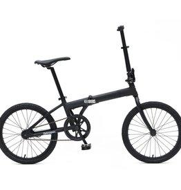 Retrospec Bicycles Speck Folding Bike. Matte Black