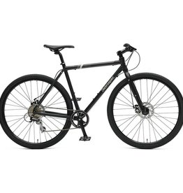 Retrospec Bicycles Amok V3 8-Speed Cyclocross Bike. Matte Black, 60cm