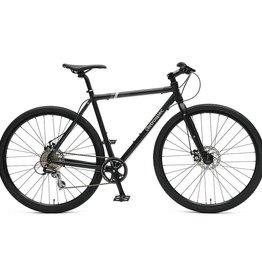 Retrospec Bicycles Amok V3 8-Speed Cyclocross Bike. Matte Black, 54cm