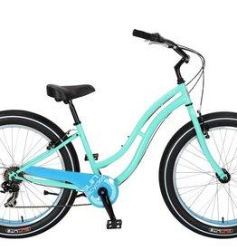SUN BICYCLES Baja Cruz. 7-Speed, Mint Pearl