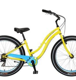 SUN BICYCLES Baja Cruz. 7-Speed, Ultimate Yellow