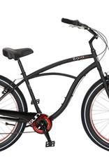 SUN BICYCLES Baja Cruz. 7-Speed, Black Pearl
