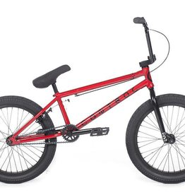 "Cult CONTROL B Red Wine 20.75"" Frame (removable 990) w/ all Black Parts, 4-pc Bars, Black Ricany Grips & 2.40 Dehart Tread Tires"
