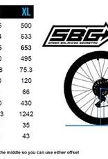 Transition Bikes Smuggler GX Complete. Bone Grey, Small