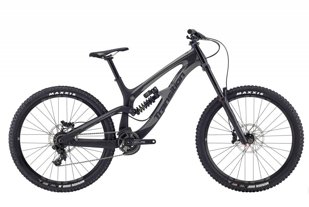 Transition Bikes TR 11 Complete GX DH. Black Powder Matte, Large