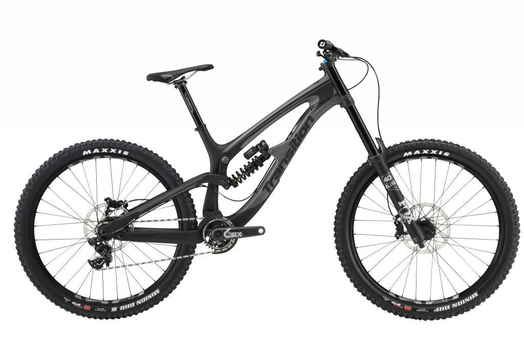 Transition Bikes TR 11 Complete X01 DH. Black Powder Matte, Medium