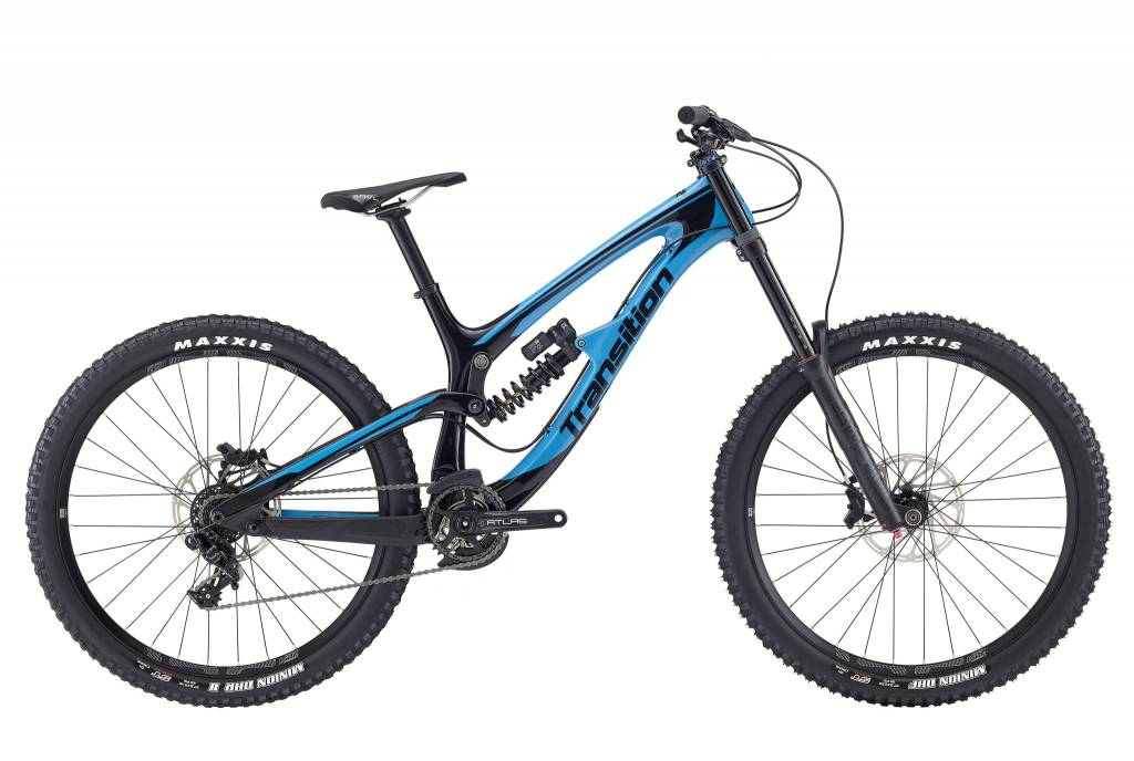 Transition Bikes TR 11 Complete GX DH. TR Blue Gloss, X-Large