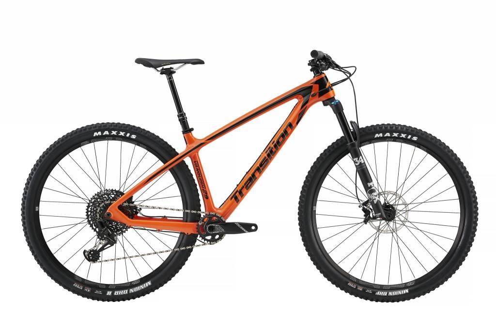 Transition Bikes Vanquish. Habanero, Large