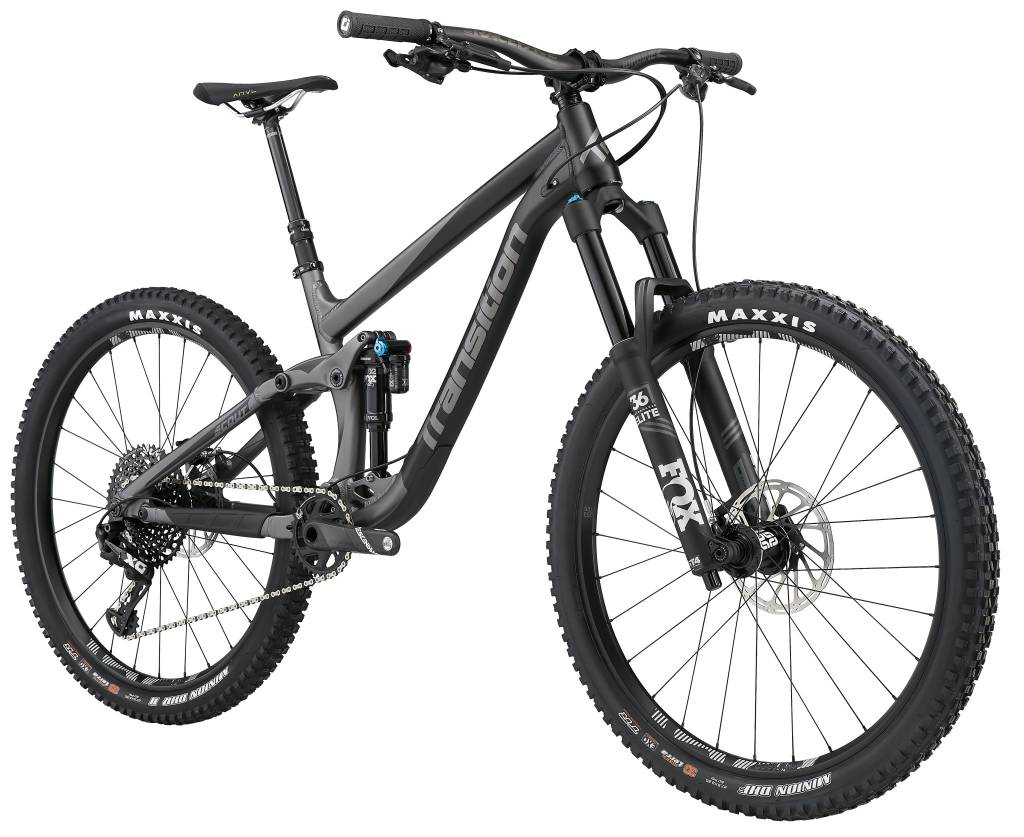 Transition Bikes Scout X01 Complete. Blackpowder, X-Small
