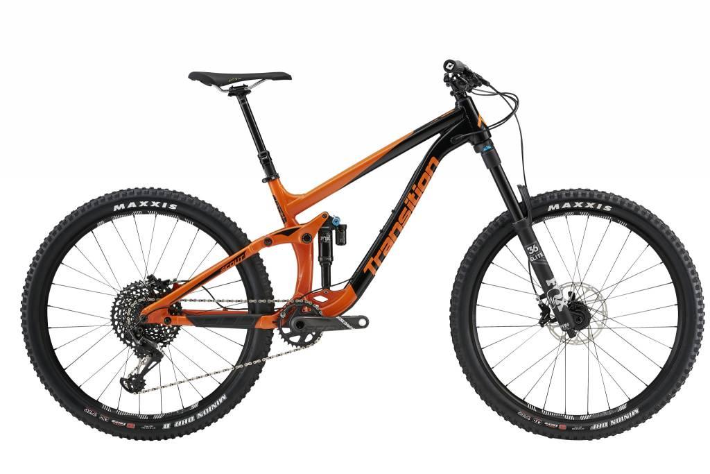 Transition Bikes Scout X01 Complete. Habanero Orange, X-Small