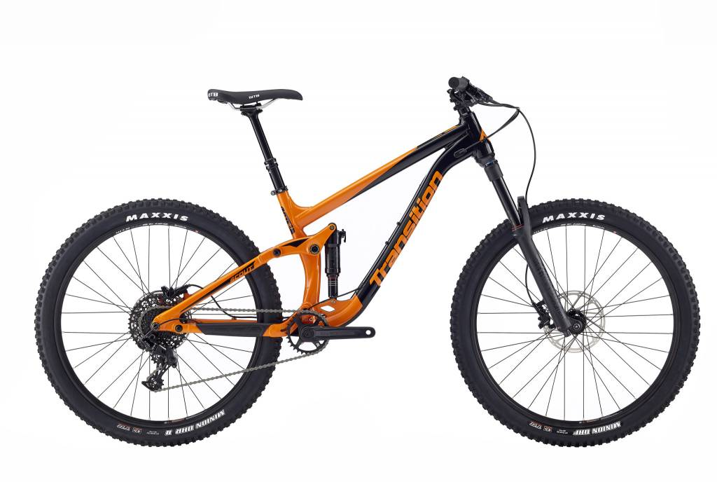 Transition Bikes Scout NX Complete. Habanero Orange, X-Small