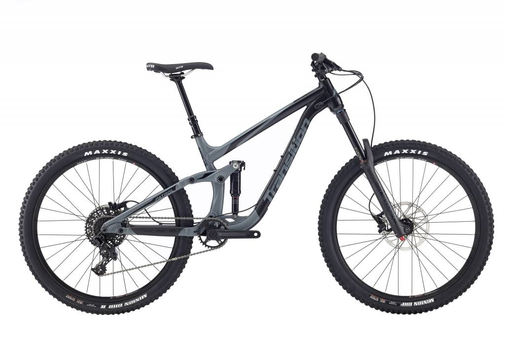 Transition Bikes Patrol NX Complete. Storm Grey, Small