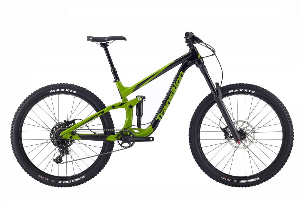 Transition Bikes Patrol NX Complete. Ponderosa Green, Small